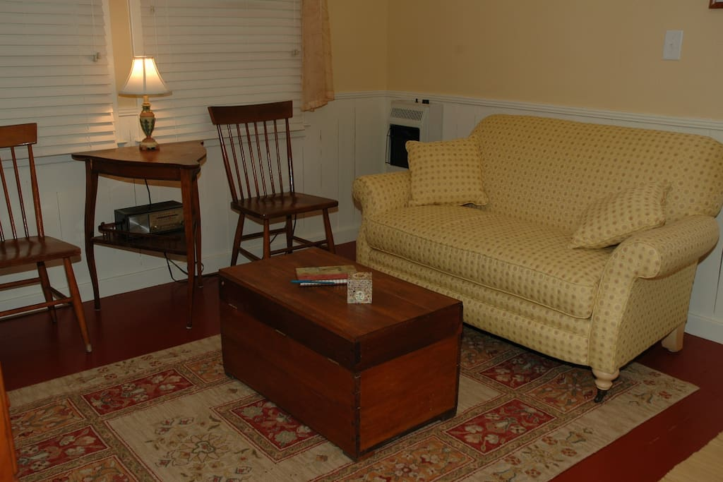Seating area in Unit #4