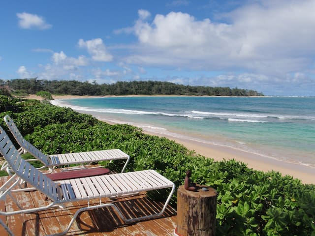 1 BEDROOM ON BEAUTIFUL SANDY BEACH - Laie - Hús