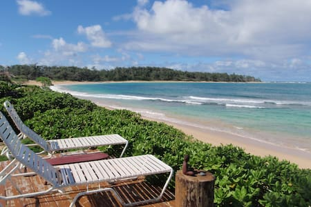 1 BEDROOM ON BEAUTIFUL SANDY BEACH - Laie - Maison