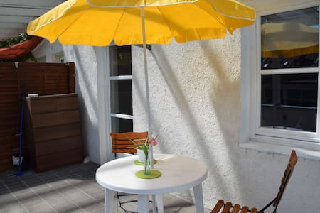 perfect small flat + sunny terrasse - Apartamento