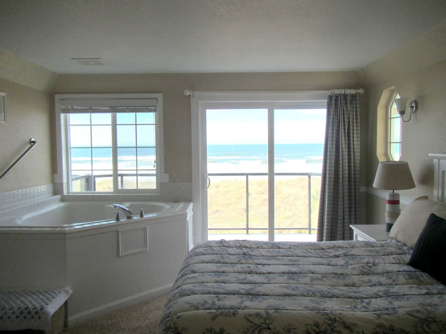 Ocean View from the upstairs master bedroom