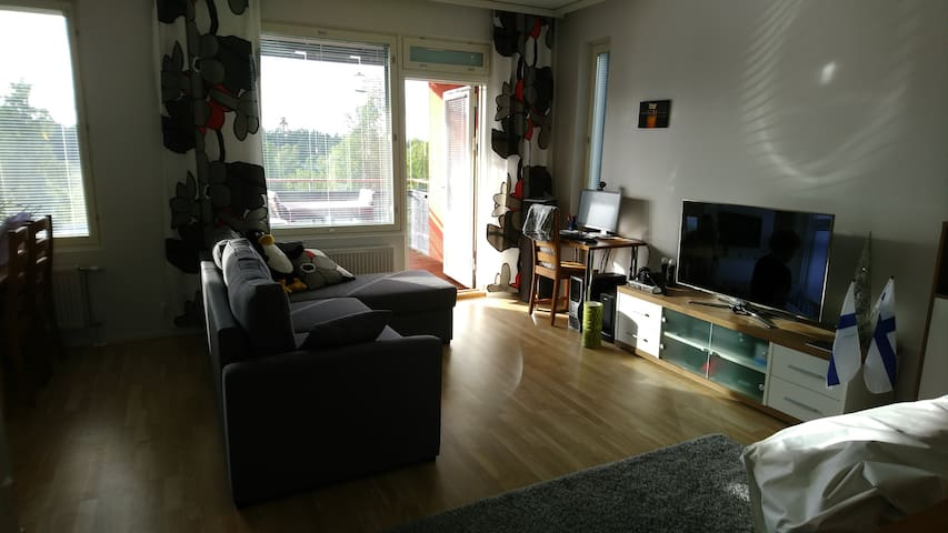 Nice apartment near the Pirkkala/Tampere border