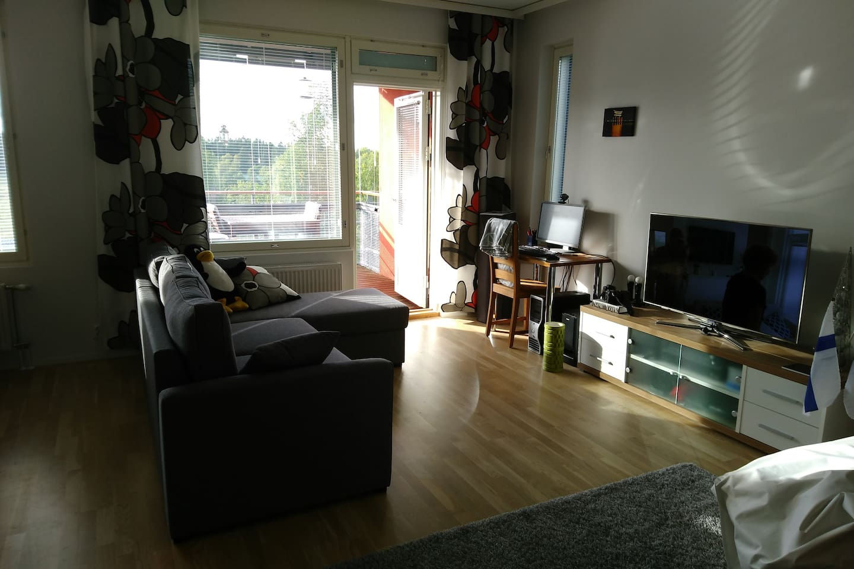 54 m² apartment in Pirkkala/Tampere border