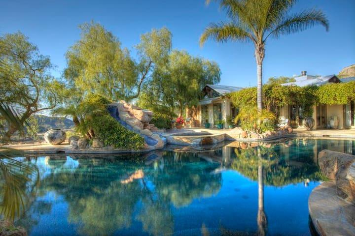 Oasis in the Malibu Wine Trail