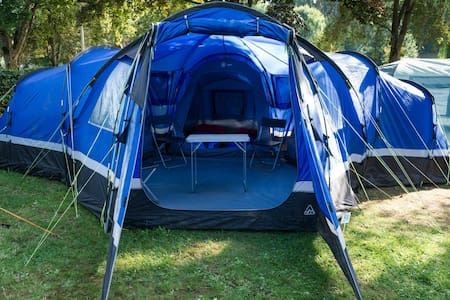 Luxurious pre-errected tent - Silverstone