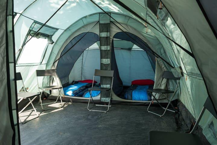 Luxurious pre-errected tent - Assen - Tält