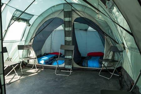 Luxurious pre-errected tent - Assen