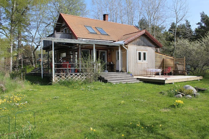 Wonderful house on idyllic island - Värmdö - Dům