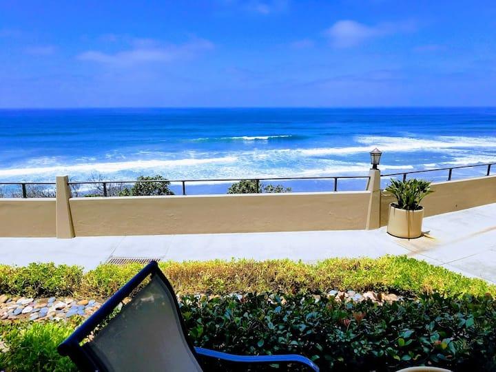 Del Mar Beach Club Oceanfront!