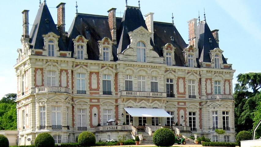 château d'Armaillé (La douve)