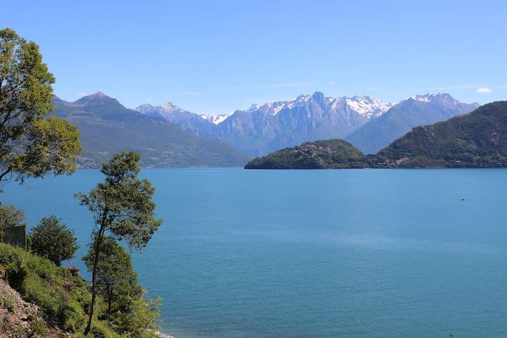 Front lake chalet - Pianello Del Lario - Cabin