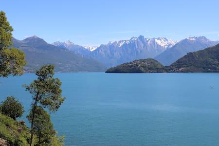 Front lake chalet - Pianello Del Lario