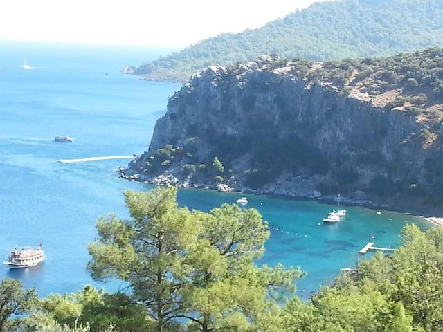 A charming&calm mediterannean pearl - Marmaris - House