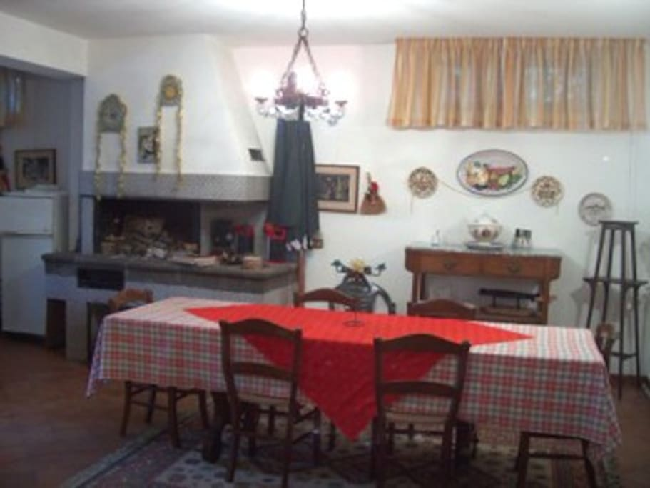 Dining room and barbeque