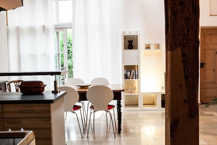 "Studio ""Beim Kirchenschuster"" 40 qm - Schernfeld - Apartment"