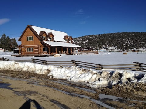 Big Bear Log Cabin Ranch (2 Acre Horse Property)