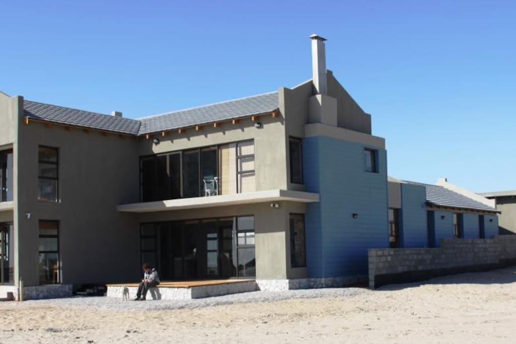 View of the house fromthe beach