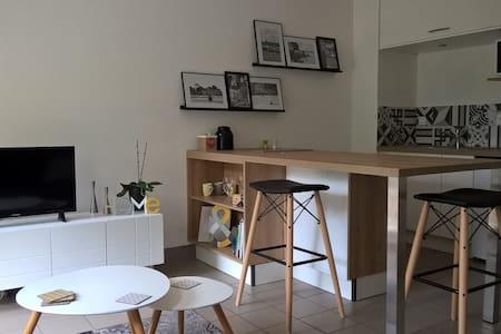 studio foret fouesnant avec jardin - La Forêt-Fouesnant - Wohnung