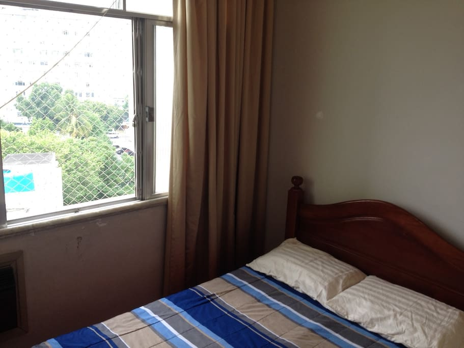 Main bedroom with airconditioning