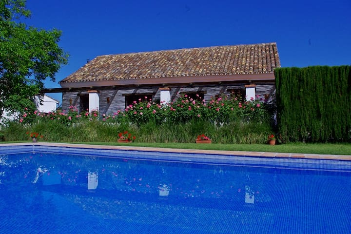 Country Villa with big Pool on Farmstead nr Ronda
