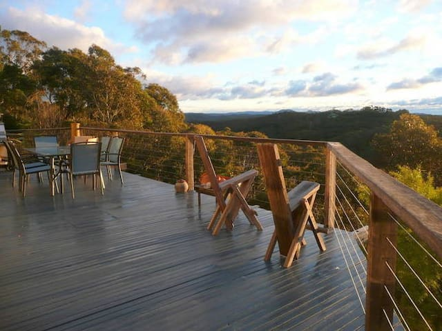 Nagual Retreat in  Leura with views