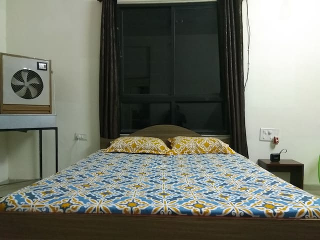Room has cooler facility for comfortable stay!