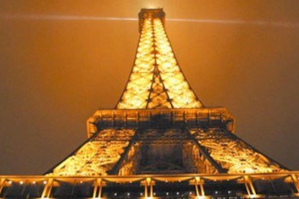 Eiffel Tower short walk to property. On border of 7th and 15th arrondissement Centrally located