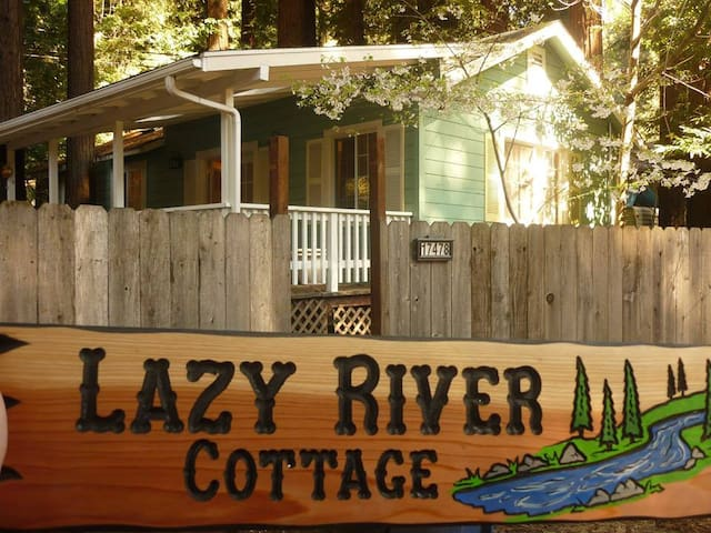 Lazy River Cottage - Guerneville - Haus