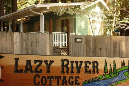 Lazy River Cottage - Guerneville - Casa