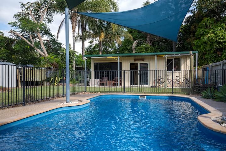 Sharkies Retreat Hervey Bay, Pet friendly.