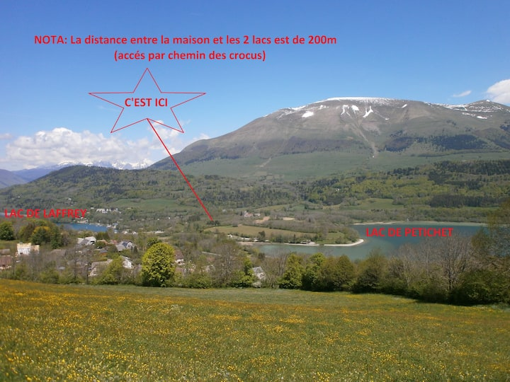 location vacance montagne 5 pers.