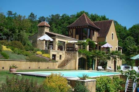 B&B Les Hauts de La Faurie à Sarlat - Sarlat-la-Canéda - ที่พักพร้อมอาหารเช้า