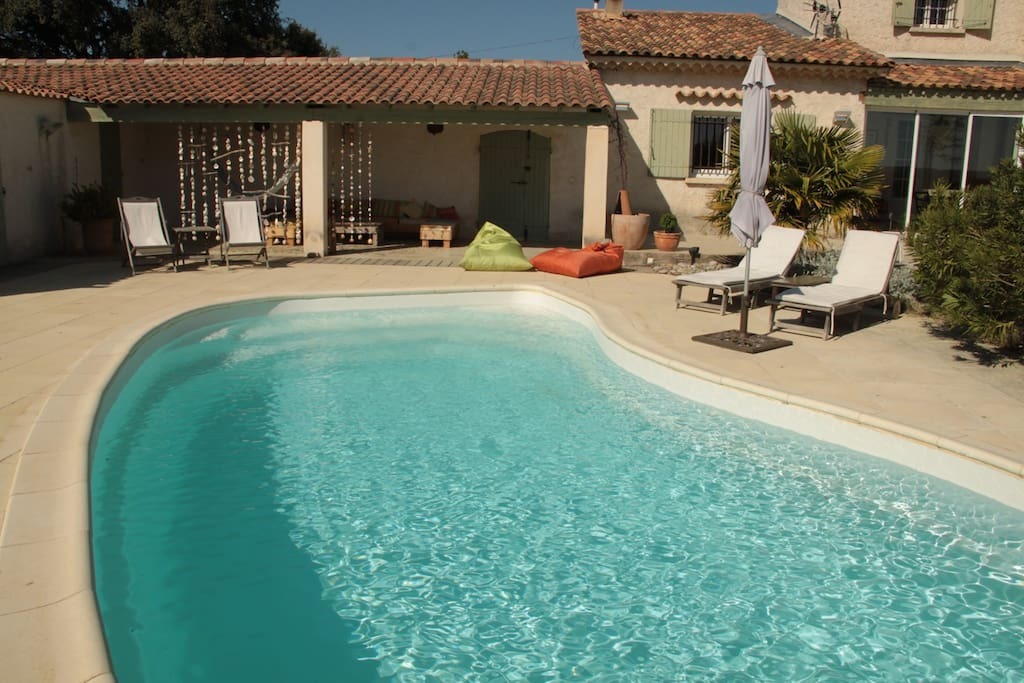 Mas proximit d 39 aix en provence houses for rent in - Oasis piscine saint cannat ...