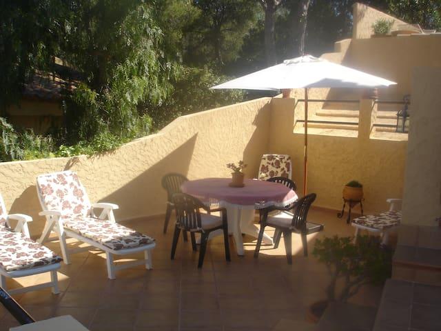 Apartamento independiente en chalet - Costa de la Calma - Talo