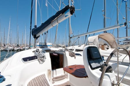 Cosy sailing yacht - Barcelona - Boot