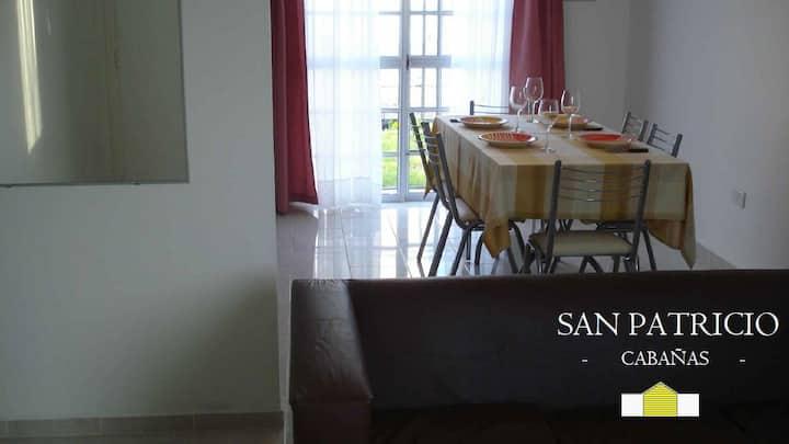 CABAÑAS SAN PATRICIO - 3ambientes Pto. Santa Cruz