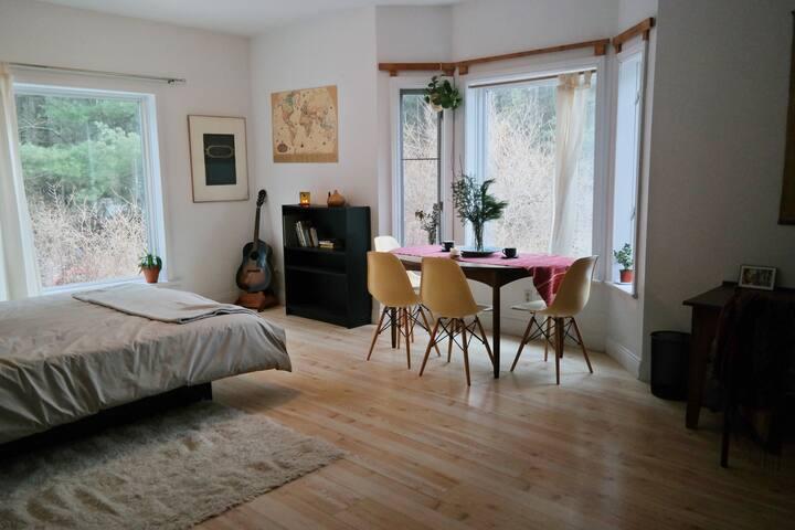 Chambre dans la forêt avec toilette privé - Villa