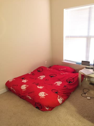 Private Room in a nice Townhouse around D.C. area - Hyattsville - Huis