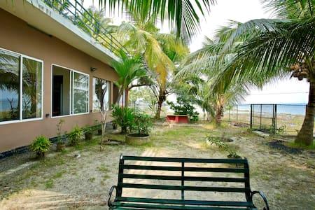 Lakeside villa where waves whisper