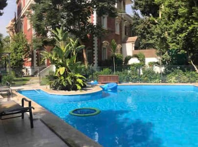 Basil Studio in Villa with Pool in Maadi by Bayty