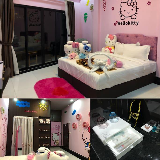 The Hello Kitty Room