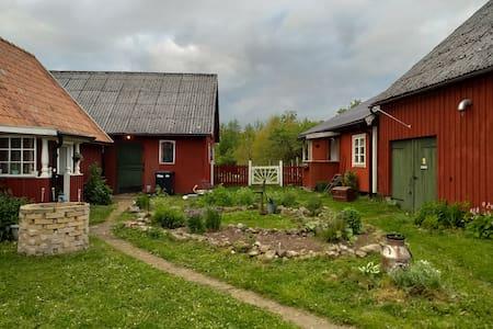 Room in cabin on a smal farm in Skåne