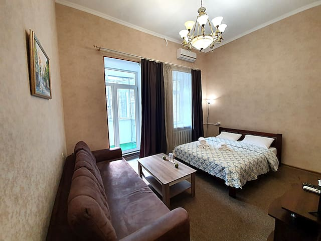 Two-bedroom apartment, 5 Kostolna str.
