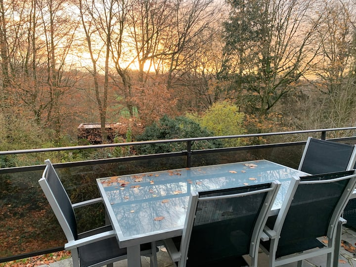 Chalet with garden close to Brussels