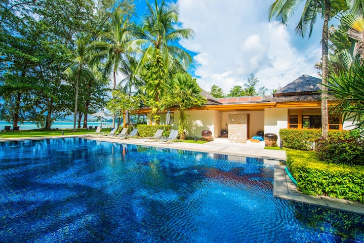 Charming Beachfront Villa on Bangtao Beach
