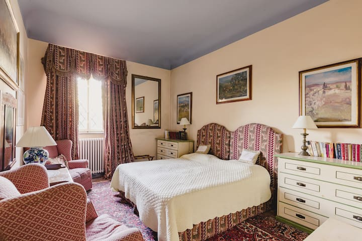 Puccini Room - In a Historical Villa in Tuscany