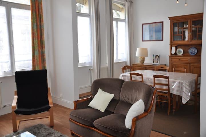 Grand appartement à Saint-Omer.