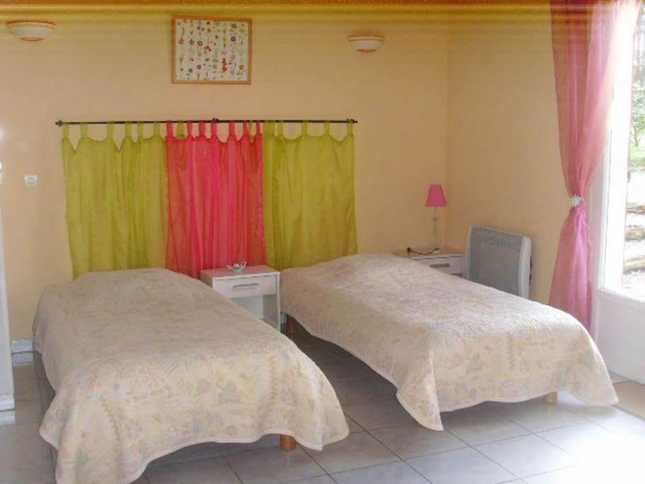 Chambres parc r gional ht languedoc chambres d 39 h tes for Chambre d hotes languedoc