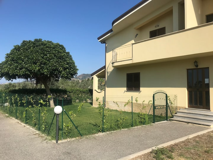 Beautiful apartment near Caulonia Marina, Calabria