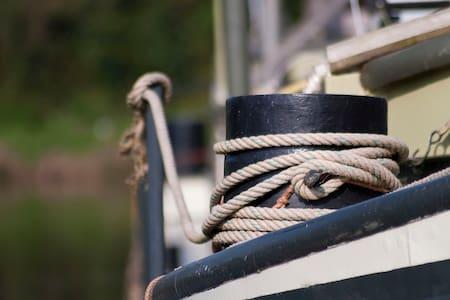 Authentieke scheepskajuit op Dender - Geraardsbergen
